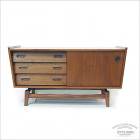 trapez danish  tv cabinet-Small