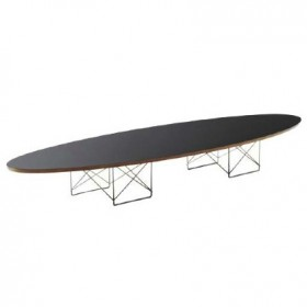 Eames Style Elliptical Coffee Table