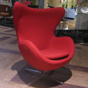 Egg Chair Kids Version Full Italian A+ Leather