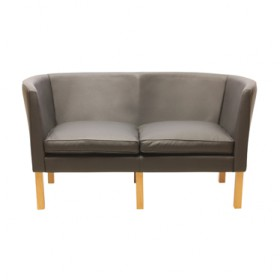 Mogensen Style 2215 2 Seater Sofa-Full Waxy Leather