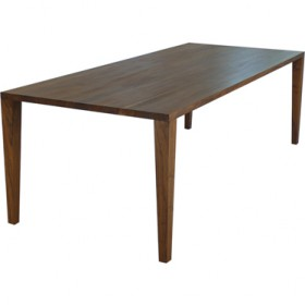 FANG' walnut dining table