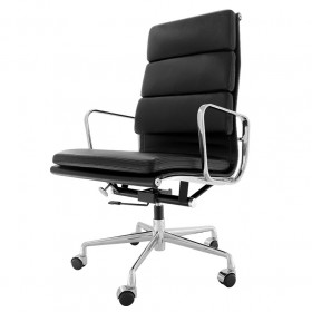 Eames Soft Pad Office Chair - High Back Full Options Full Italian A+ Leather