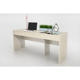 Spotless Study Table - 3 Shelves 凈荃書桌 - 三屜