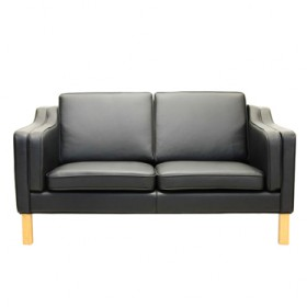 Mogensen Style KB06 2-Seater Sofa Full Italian A+ Leather