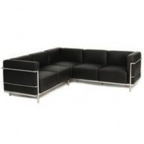 LC3 L-Shape Sofa Full Italian A+ Leather