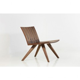 'BANG'walnut lounge chair