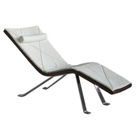PIAO' walnut chaise long