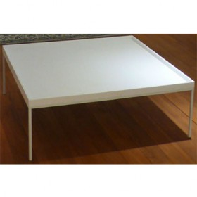 'PING' CORIAN coffee table, tray top